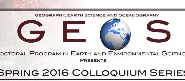 Spring 2016 Colloquium Schedule