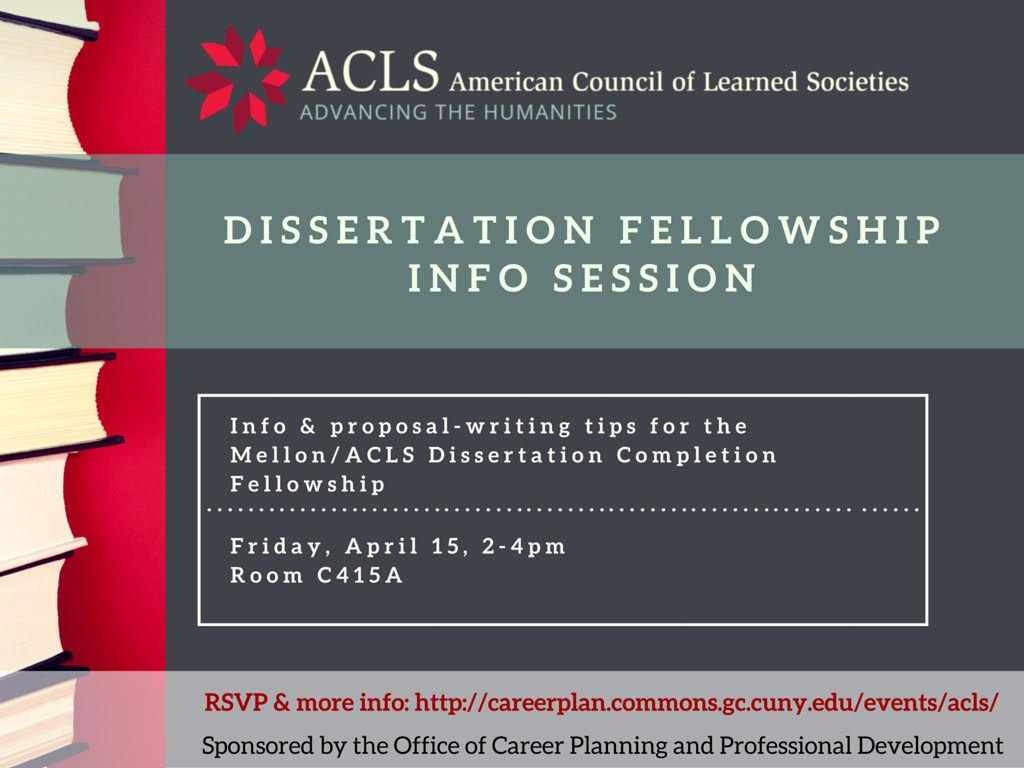acls dissertation completion fellowship